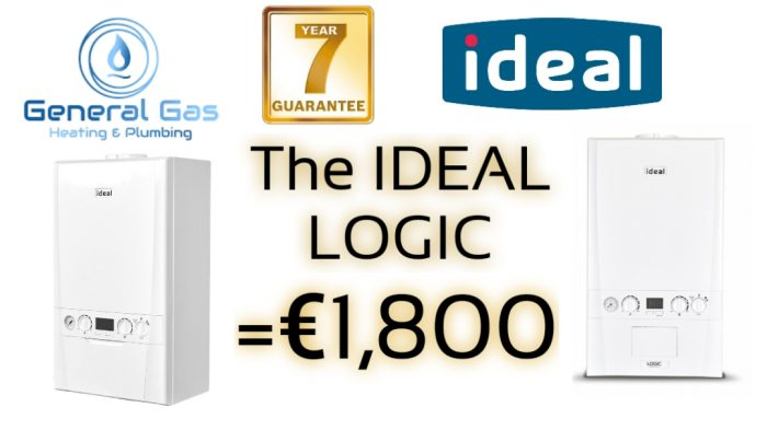Ideal logic Gas boiler cost